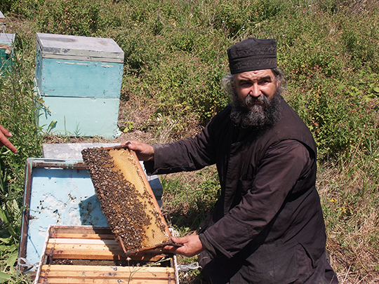 Now most beekeeping is on a commercial scale
