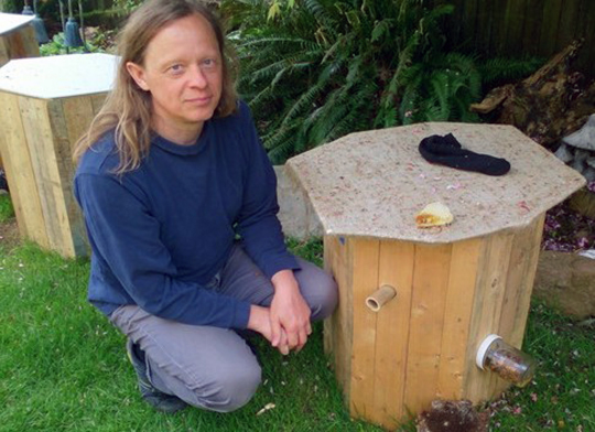 Barry Malanger, creator of the BeeHaven Box.